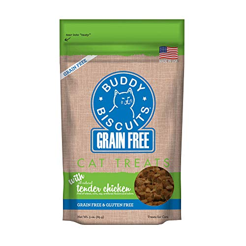 3-Oz Buddy Biscuits Tender Cat Treats (Chicken) $1.40 w/ S&S + Free Shipping w/ Prime or $25+