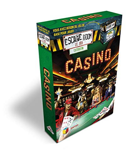 Identity Games- Escape Game-Pack Extension-Casino, 7741