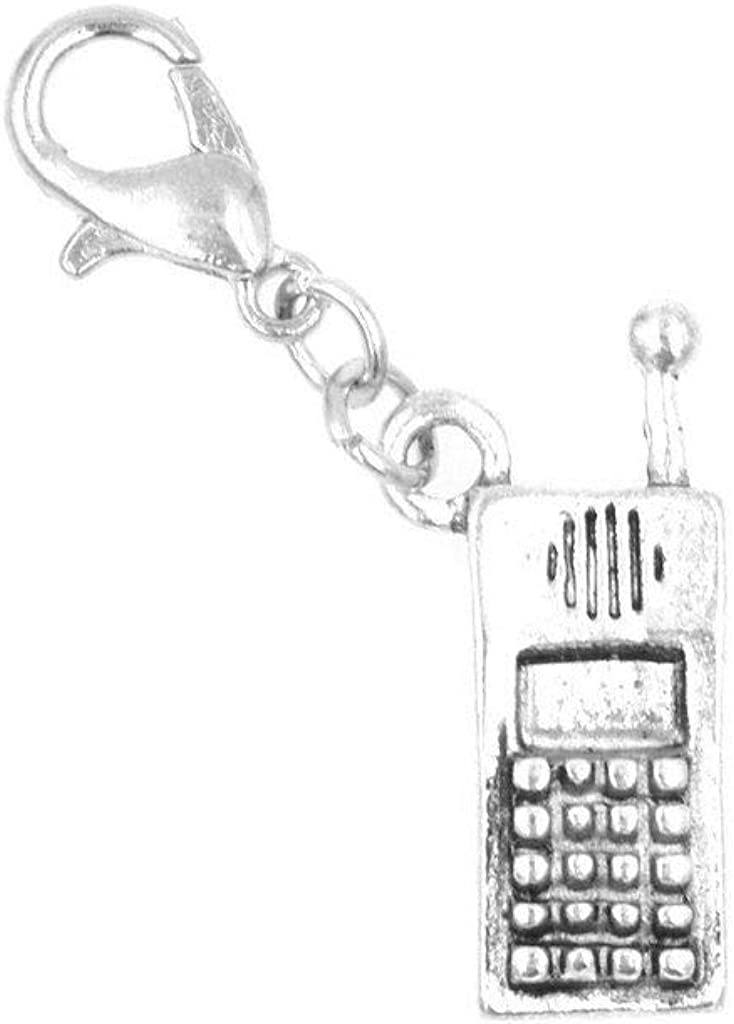 It's All About...You! Cell Phone Mobile Clip on Charm Perfect for Necklaces and Bracelets 100R