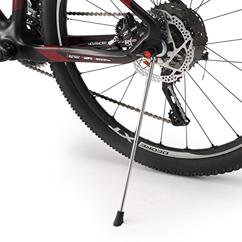 Adjustable and Removable Bicycle Bike Kickstand with Stainless Steel Material For 26 Mountain Bike 700C Road Bike