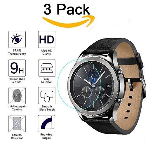 CAVN Protettiva Compatibile con Samsung Galaxy Watch 46mm Pellicola...