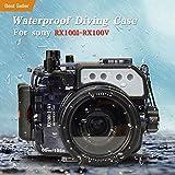 Pour Sony RX100 RX100II RX100III RX100Iv RX100 V 195 pieds / 60m Sea frogs caméra...