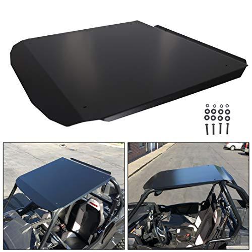 For Polaris RZR 900/1000/ Turbo 2 seatRoof Top Black Aluminum Spoiler