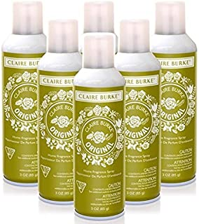 Claire Burke Vapourri Home Fragrance Spray 3 Oz. Box of 6 - Original