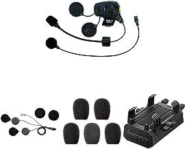 Sena 20S-EVO-01D 20S EVO, Bluetooth-Kommunikationssystem + SC-A0323 Schlanke Lautsprecher, 20S EVO, 30K + SR10-10 SR10 Bluetooth-2-Wege-Funkadapter + GP10-02 Bluetooth Audio-Pack für GoPro-Kamera