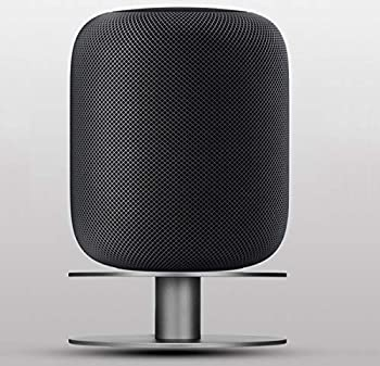 Stand for Apple HomePod AutoSonic Aluminum Base Mount Accessories Compatible with Apple HomePod Fully Aluminum Build Anti-Slip Base Space Gray 2019 Release