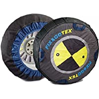 FIX&GOTEX - 8ZFH - Cadenas de nieve, cadena textil para coche TALLA: H