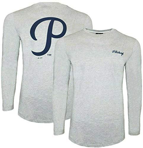 NFL Majestic Pittsburgh Pirates MLB T-Shirt, langärmelig, Größe L