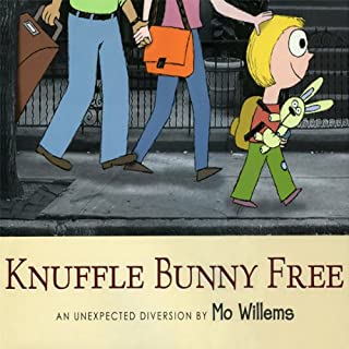 Knuffle Bunny Free: An Unexpected Diversion audiobook cover art