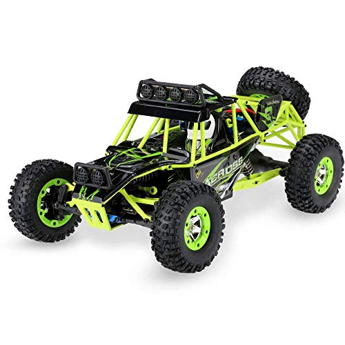 GLXLSBZ 1/12 Modelo Off-Road Remot Control Car Todo Terreno Escalada Vehículo RC Deriva Eléctrica Buggy RC con Luces 2.4G Radio Monster RC