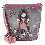 SANTORO GORJUSS 885GJ04, Bolsito Neopreno Little Wings para Mujer, Violeta, 19,5 cm x 13cm x 11 cm