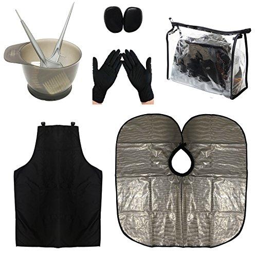 xnicx strumento di capelli colore kit colorazione tintura per capelli parrucchiere tintura acconciatura capelli tintura,brosse à teinture,pennello di tinta,bottiglia spray per capelli,salon