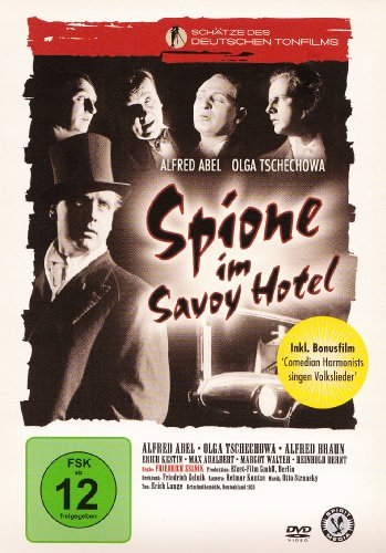 Spione im Savoy Hotel & Bonusfilm : 'Comedian Harmonists singen Volkslieder'