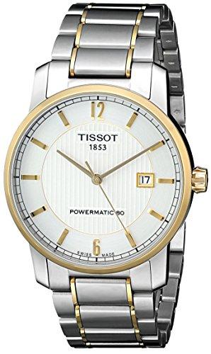 Tissot Men's T0874075503700 T-Classic Analog Display Swiss Automatic Silver Watch