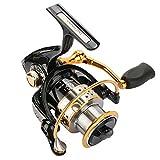 Tsurinoya Metal Fishing Reel Spool Sea Spinning Reels Deep and Shallow Spool 2000 Series 5.2: 1 9BB Trail Power 6kg for Fish (Bearing Quantity : 9)