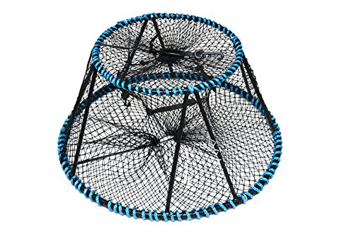 KUFA Tower style prawn, crab trap (Size:ø28'x ø20'x 12'),Stretched Mesh size:1-3/4' CT130