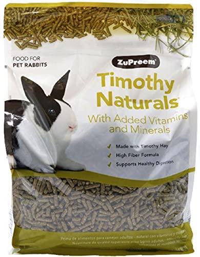 ZuPreem - Alimento Conejos Timothy Naturals | Pienso en Pellets Conejo - 2,25 kg