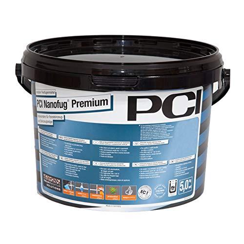 PCI Nanofug Premium Variabler Flexfugenmörtel 5 kg/ Eimer anthrazit