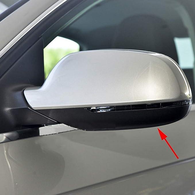 Spiegel Blenden Spiegelkappen Spiegelabdeckung Außenspiegel Rahmen Rückspiegel Abdeckung Für A3 A4 B8 B9 A5 Auto Zubehör Auto