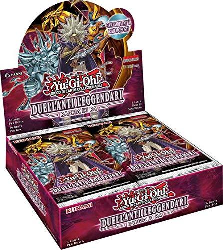 Konami Tcg- Box yu-gi-oh-duellanti leggendari 7 (36 Buste) -ITA Gioco di Carte collezionabili, 161693