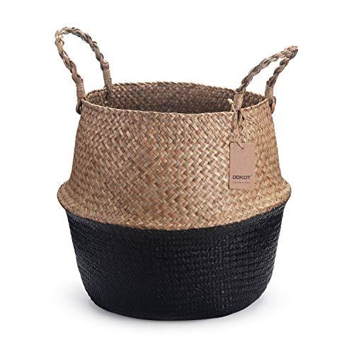 Cestas Almacenaje Baño Mimbre cestas almacenaje baño  Marca DOKOT
