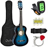 Best Choice Products 30in Kids Classical Acoustic Guitar Beginners Set w/Carry Bag, Picks