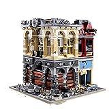 WSKL 2193 Piezas Street View Ruin Palace Cinema Modelo Bloques de construcción Apocalipsis Ladrillos