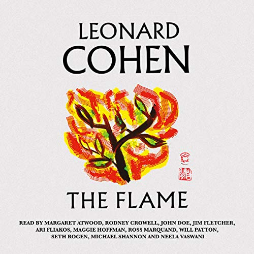 The Flame audiobook cover art