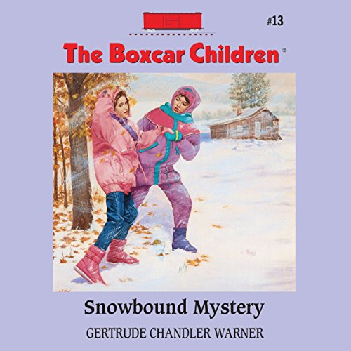 Snowbound Mystery audiobook cover art