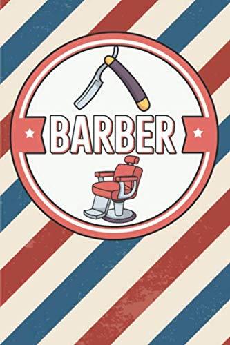 Barber: Notizbuch für Barber im Barbershop. Für Notizen, Skizzen, Zeichnungen, als Kalender, Tagebuch oder als Geschenk. 120 Seiten Punktiert.