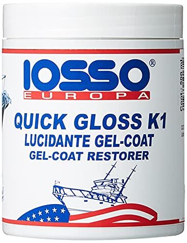 Iosso Quick Gloss K1, Pasta Lucidante per Vetroresina, 500 ml