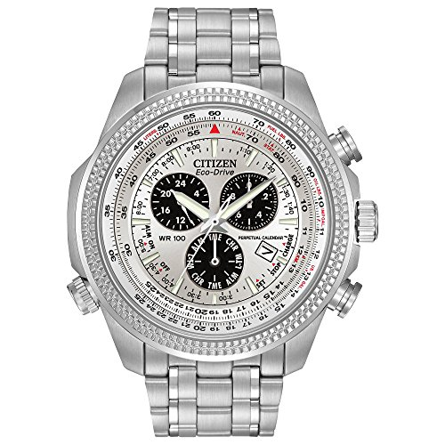 Citizen Men's Eco-Drive Chronograph Watch with Perpetual...