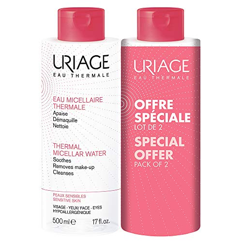 Uriage Set Facial, pack de 2 x 500ml