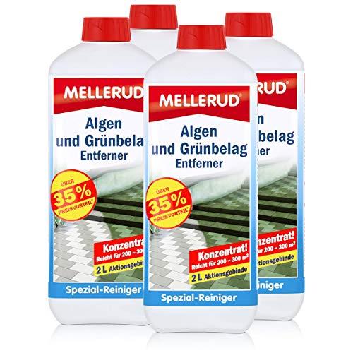 4x Mellerud Algen und Grünbelag Entferner 2L
