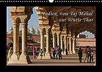 Indien, vom Taj Mahal zur Wueste Thar (Wandkalender 2022 DIN A3 quer): Aufnahmen aus Nordindien mit dem wunderschoenen Taj Mahal, Jaipur, Agra, Jaisalmer u. a. (Monatskalender, 14 Seiten )