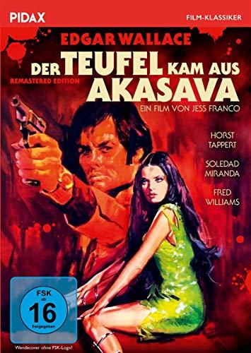 Edgar Wallace: Der Teufel kam aus Akasava - Remastered Edition (Pidax Film-Klassiker)