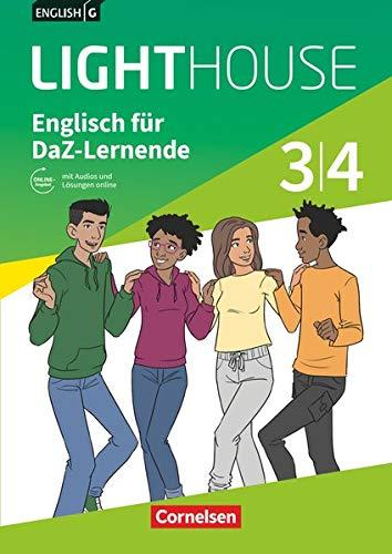 English G Lighthouse - Allgemeine Ausgabe - Band 3/4: 7./8. Schuljahr: Englisch für DaZ-Lernende - Workbook mit Audios und Lösungen online