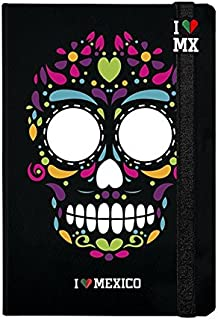 I LOVE MEXICO Catrina.N Libreta, 80 hojas, color Negro