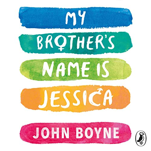 My Brother's Name Is Jessica audiobook cover art