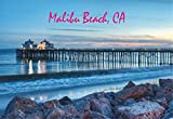 Malibu Beach, Pier, Beach, CA, California, Magnet 2 x 3 Photo Fridge Magnet