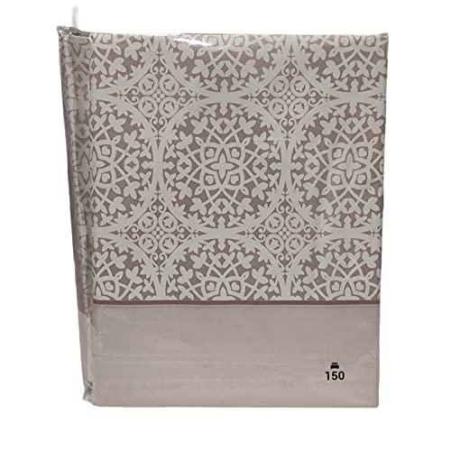 sábanas Baratas de Verano en Nube/Rosa Microfibra Estampadas Transpirables y Suaves( Monaco Nube ) NO Hacen Bolas. (Cama 135cm)