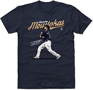 Mike Moustakas Shirt - Milwaukee Baseball Men's Apparel - Mike Moustakas Score