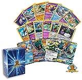Pokemon Lot of All Legendary Pokemon Cards - 20 Cards Rares - Uncommon - Holos - Foils - Ultra Rare EX, GX or V! Includes Golden Groundhog Box!