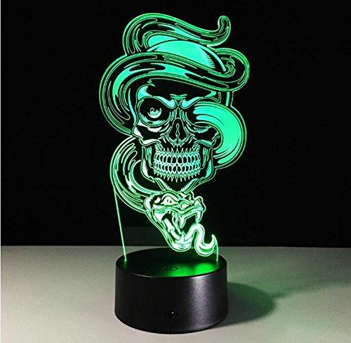 Kinder Kindernachtlichter Xenon Touch Sensorgesteuerte Gothic Halloween Tischlampen