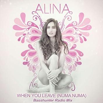 When You Leave [Numa Numa] - Basshunter Radio Mix