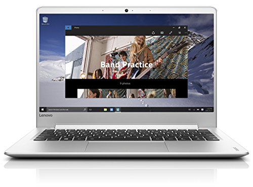 Lenovo ideapad 710S 33,78cm (13,3 Zoll Full HD IPS) Laptop (Intel Core i5-6260U, 8GB RAM, 256GB SSD, Intel Iris Grafik 540, Windows 10 Home) silber