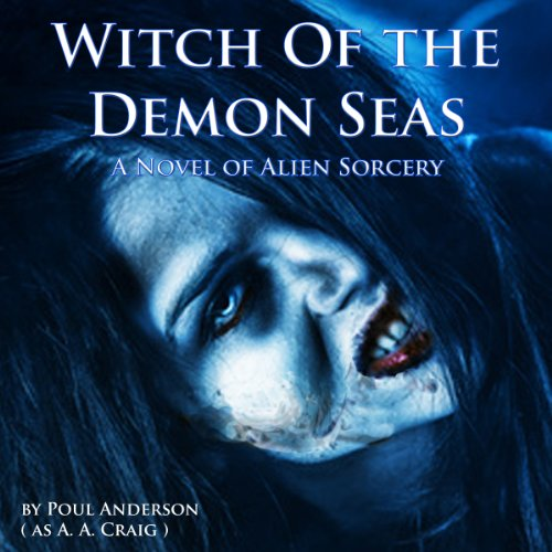 Witch of the Demon Seas audiobook cover art