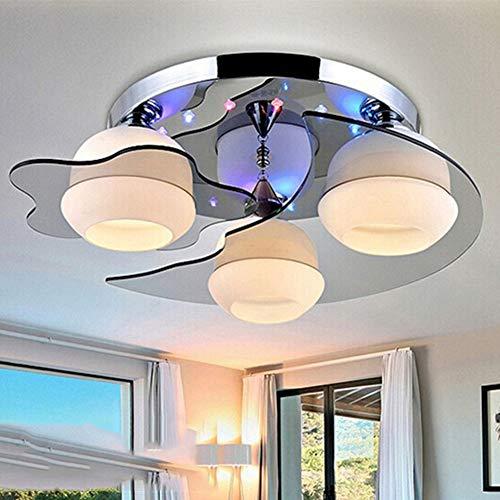 SUNA Romantique Star Moon Chambre D'enfant Chambre Lumière Simple Moderne Salon éclairage Créatif Led Plafond Restaurant