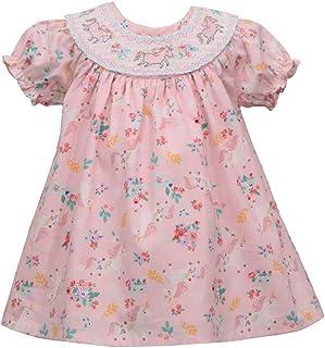 Bonnie Jean Easter Dress - Smocked Spring Summer Dress for Baby Toddler and Little Girls
