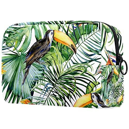 Neceser de viaje de nylon, Dopp Kit de afeitar bolsa de aseo organizador negro naranja 18.5x7.5x13cm
